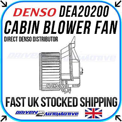 Denso Dea20200 Soffiatore Interno Ventola Per Vauxhall Corsa Mk 3 1.2 Lpg 06.11 - 08.14- Abbiamo Vinto L'Elogio Dai Clienti