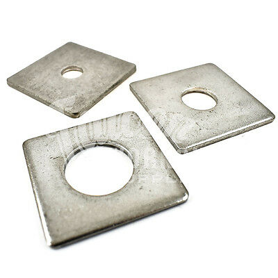 24, M12, 50 X 50 X 3mm A2 Stainless Steel Square Plate Construction Washers * Elegante Verschijning