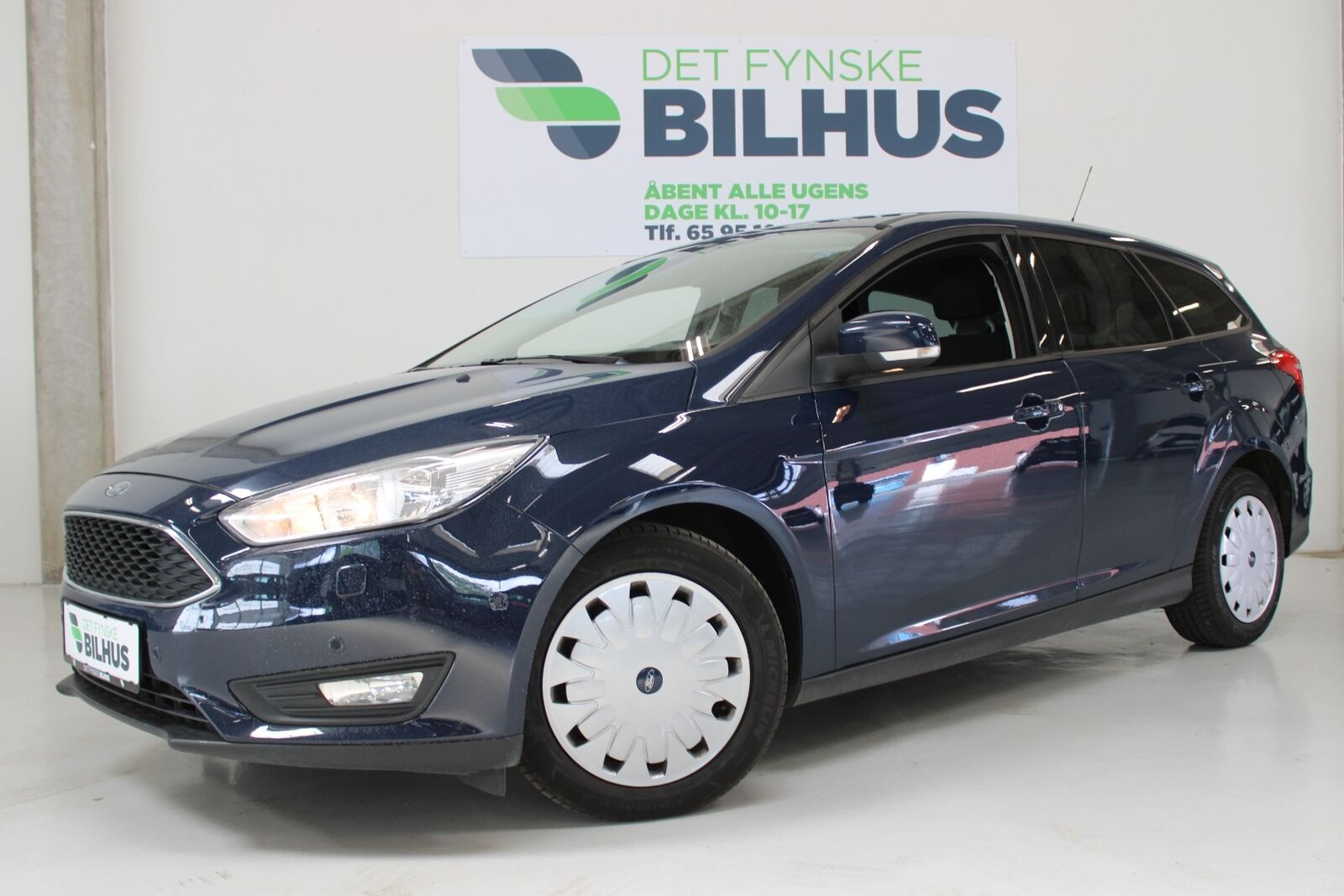 Ford Focus 1,5 TDCi 105 Business stc. ECO 5d - 94.900 kr.