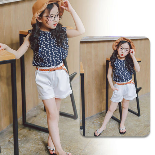 C780 5 Sizes Shorts Pants Beach Girls Kids Korean Style Summer Baby Girls