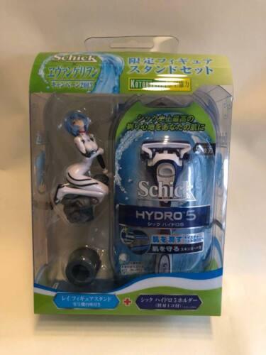 RARE NOUVEAU 2013 Schick Hydro 5 Power Select Razor Evangelion Rei Figure Set F//S