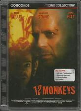 12 Monkeys - Bruce Willis, Brad Pitt / DVD / Jewelcase #6023
