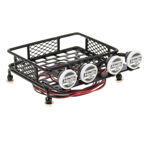 1//10 Scale Alloy Roof Rack for Axial   Trx-4 RC4WD RC Rock Crawler Car