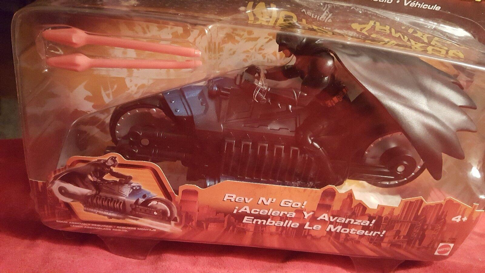 Batman Toy on Armored Speedbike Moto Armada Armada Armada by Mattel from Batman Begins 72e9a3