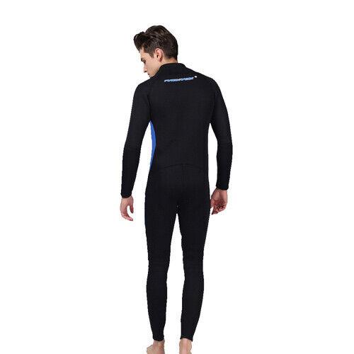 3mm Men Neoprene Anti UV Front Zipper Wetsuit Snorkeling Diving skin Swim suit