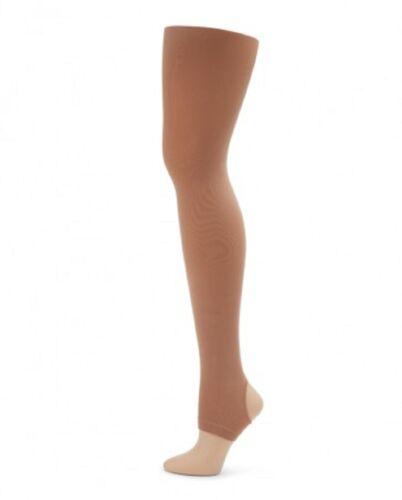 Capezio Girls Ultra Soft Self Knit Waistband Stirrup Tight 1961C