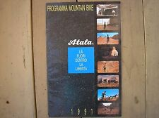 ATALA PROGRAMMA 1991 MTB CATALOGO PRODUZIONE MOUNTAIN BIKE UP TOP ACCESSORI