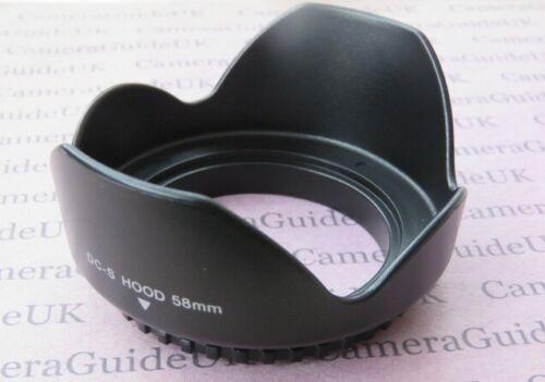 Lens Hood 58mm Flower Screw Mount For Nikon AF-P DX Nikkor 70-300mm F4.5-6.3G