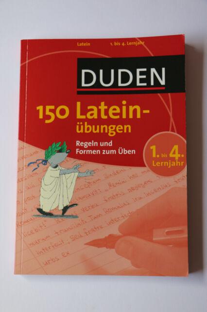 150 Lateinübungen - 1.-4. Lernjahr - Duden ISBN 9783411735112