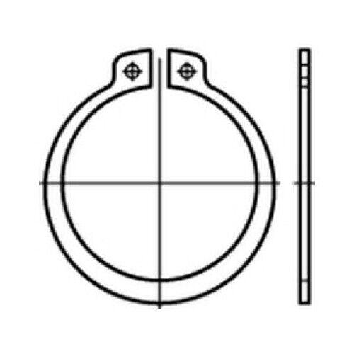 1,4122 A 24 x 1,2 mm VE50 Stück 50 x CAB FASTENING Sicherungsring DIN 471