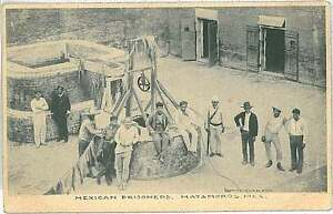 Image Is Loading VINTAGE POSTCARD MEXICO Matamoros MEXICAN PRISONERS