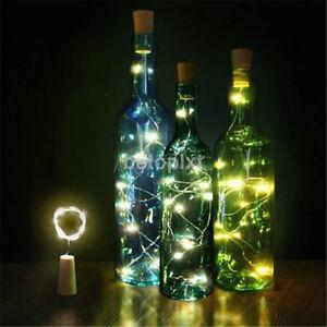 New-10-LED-Solar-Wine-Bottle-Cork-Shaped-String-Light-Night-Fairy-Light-Lamp-FR