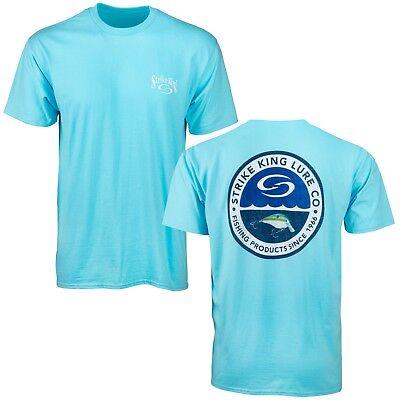 Branded Bass Fishing Tee Strike King Apparel Strike King Circle Badge T-Shirt