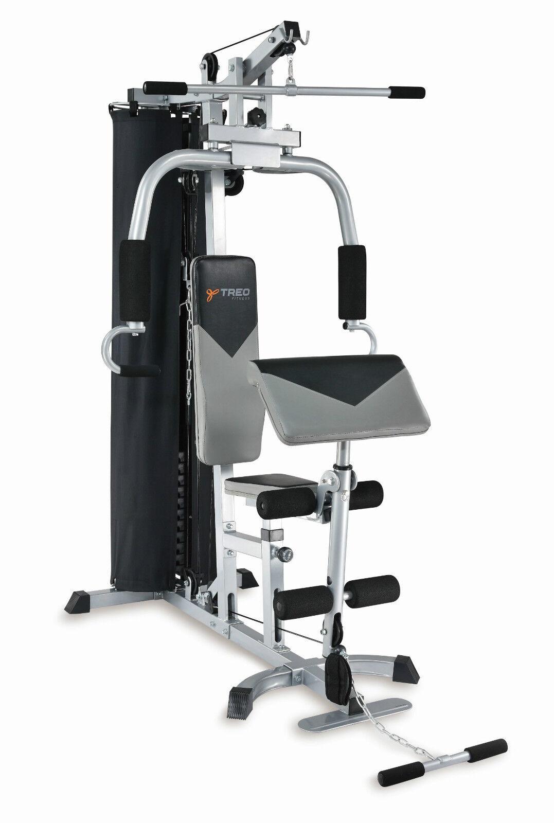 Stazione Multifunzione G102 Multigym Treo Fitness per Leg Curl Arm Press Multi