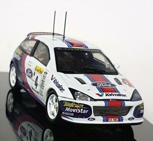Autoart-1-43-Scale-60112-Ford-Focus-WRC-Monte-Carlo-Rally-2001-Colin-McRae