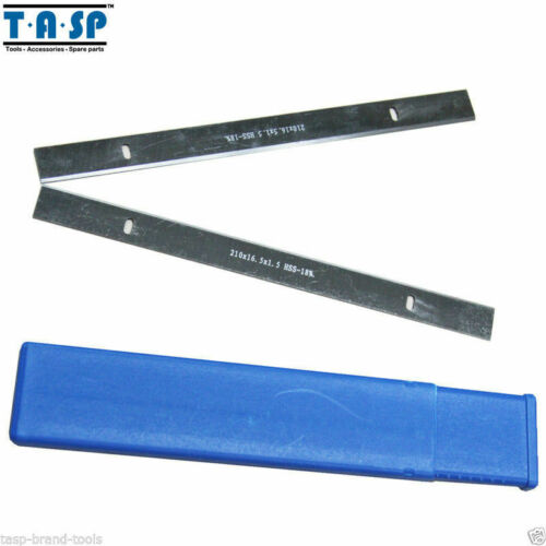 HSS Planer Blades Knive 210x16.5x1.5mm For Einhell Th-Sp 204,Tc-Sp 204-2pc//set