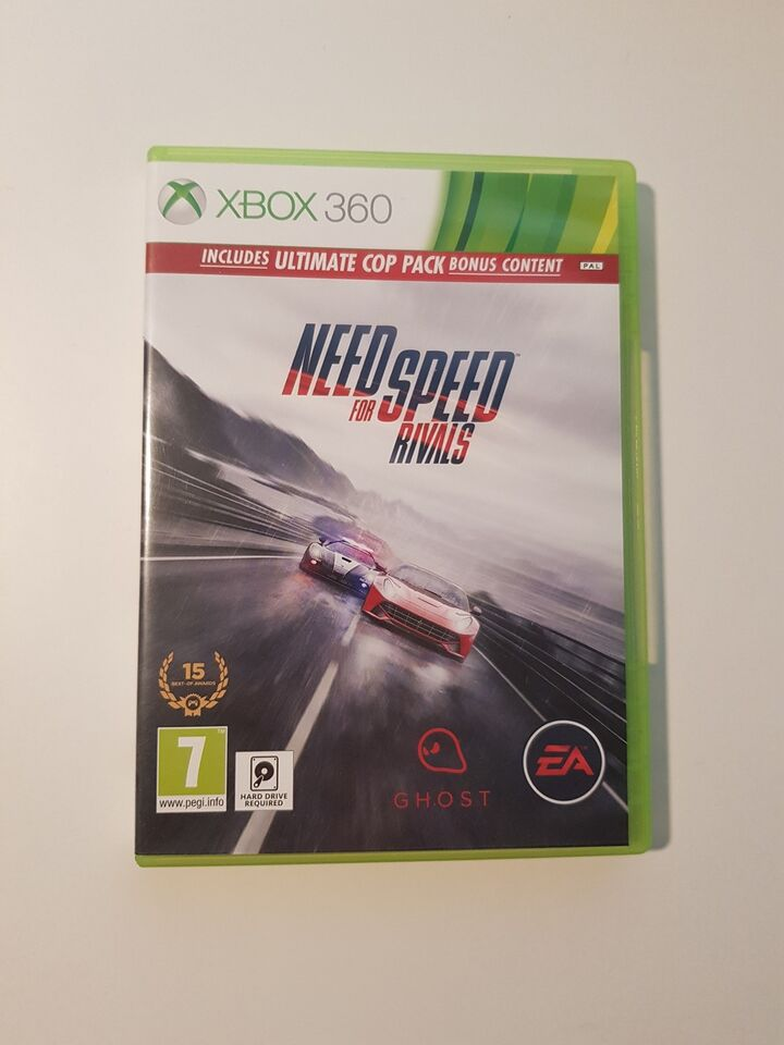 Need for speed rivals, Xbox 360
