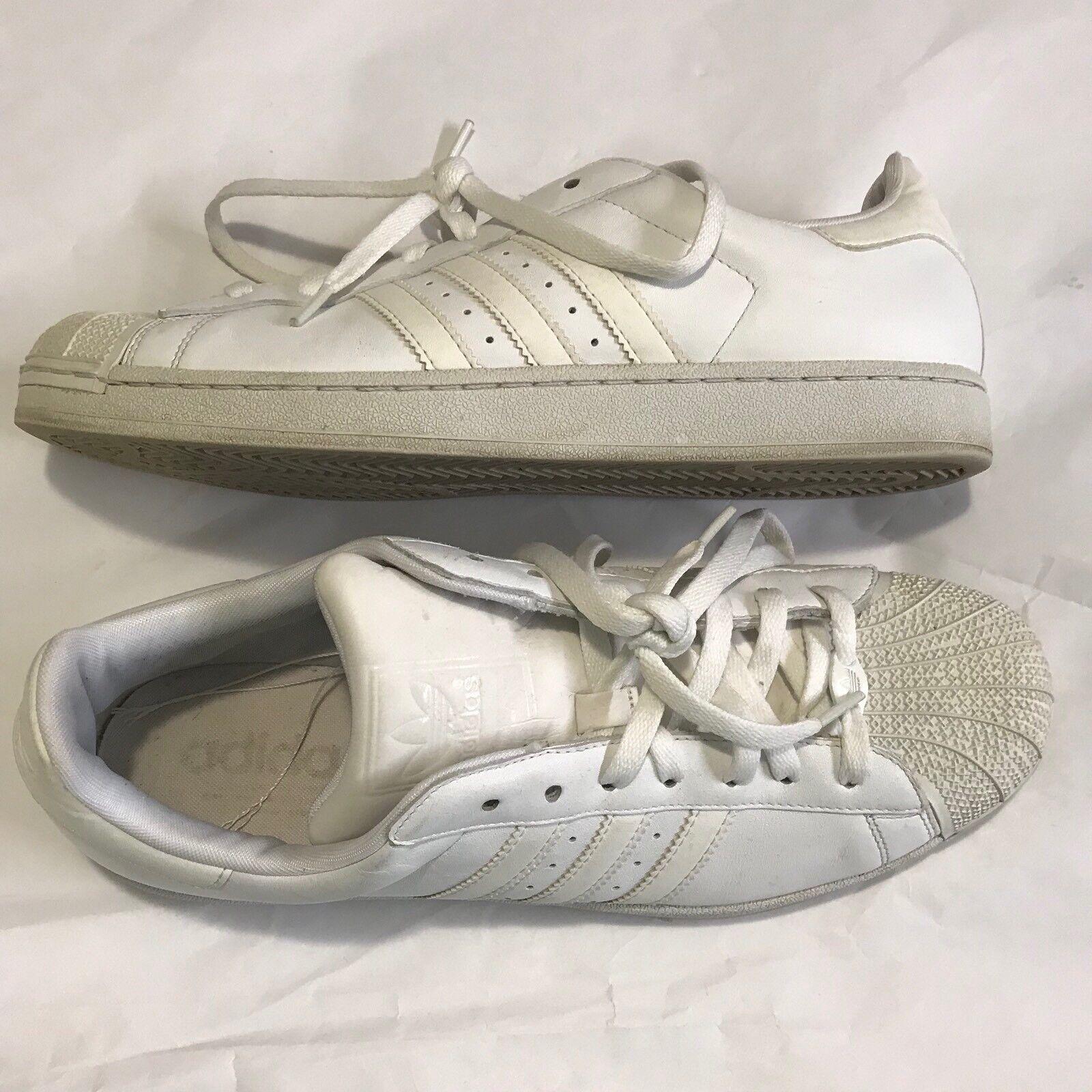 Adidas Men's Superstar Original Shell Toe Sneakers Comfortable