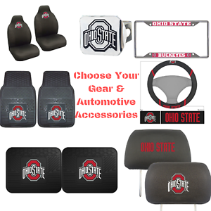 NCAA-Ohio-State-Buckeye-Pick-Your-Gear-Automotive-Accessories-Official-Licensed