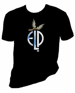 Emerson, Lake and Palmer Halo and Angel Wing t shirt, ELP, Greg Lake, Sizes S-6x