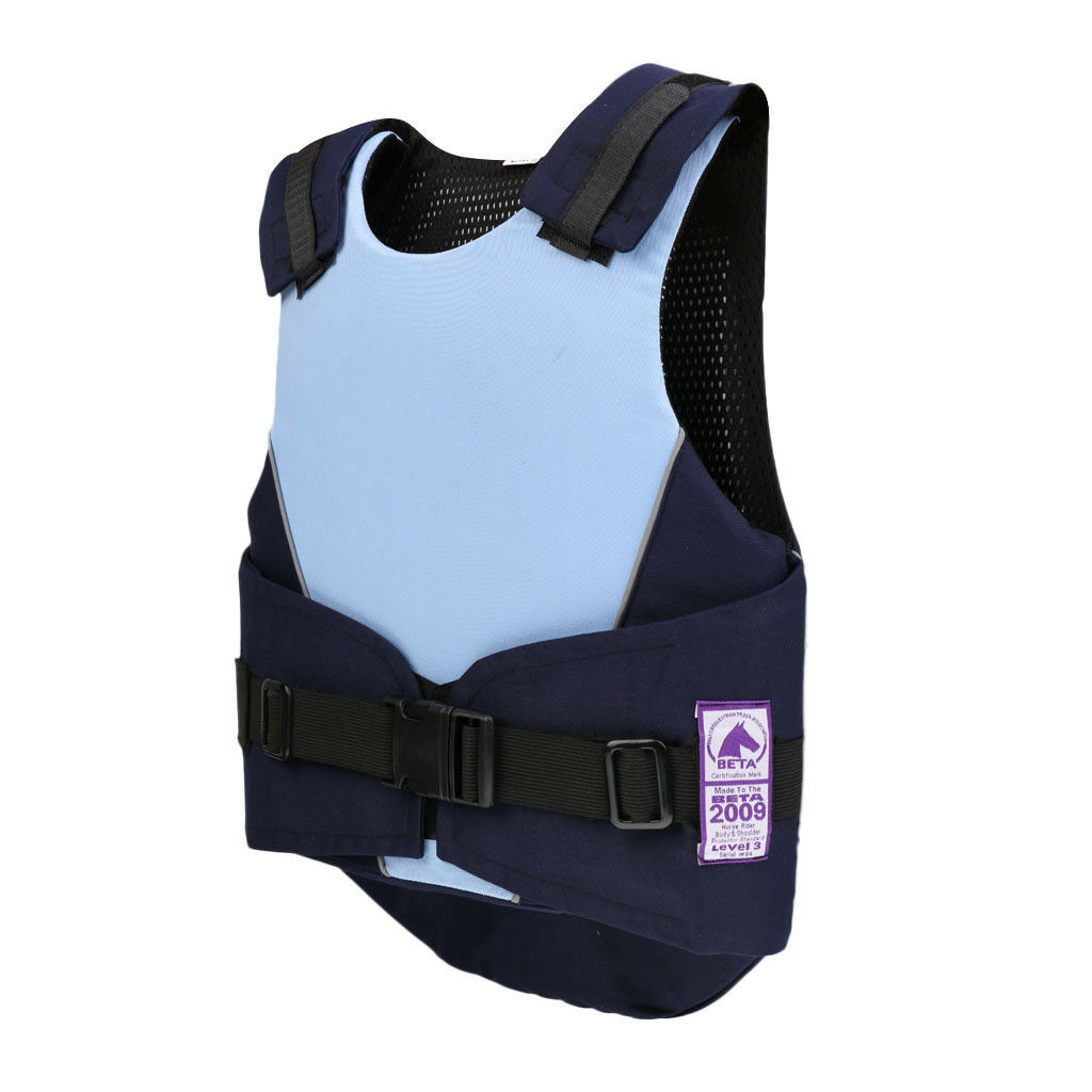Kids Safety Equestrian Equestrian Safety Eventing Protective Horse Riding Vest Blau CM 1eb54b