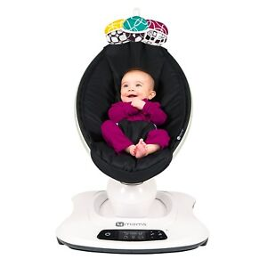 4Moms-Mamaroo-4-Infant-Reclining-Seat-Rocker-Bouncer-Bluetooth-4-0-Black-2018