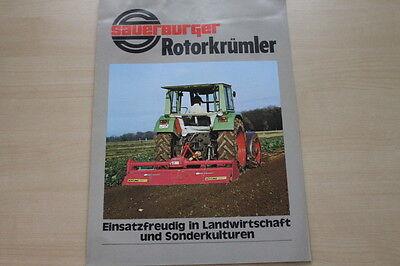 Agrar, Forst & Kommune Haben Sie Einen Fragenden Verstand 163490 Sauerburger Rotorkrümler Prospekt 198?