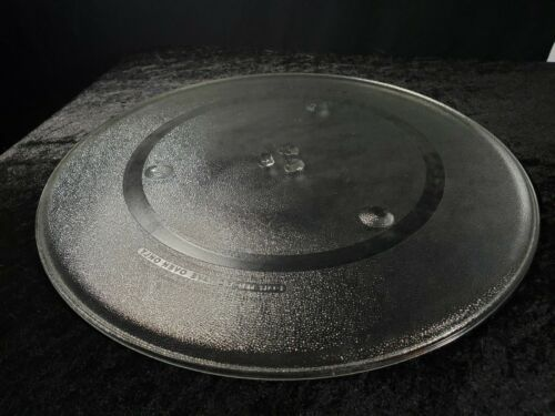 """Microwave Glass Plate 420 4MO Round 16 1//2"""" Replacement Turntable Plate CLEAN"""