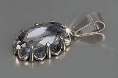 Ruby Emerald /& other Corundum Silver pendant vp009s Russian Soviet Alexandrite