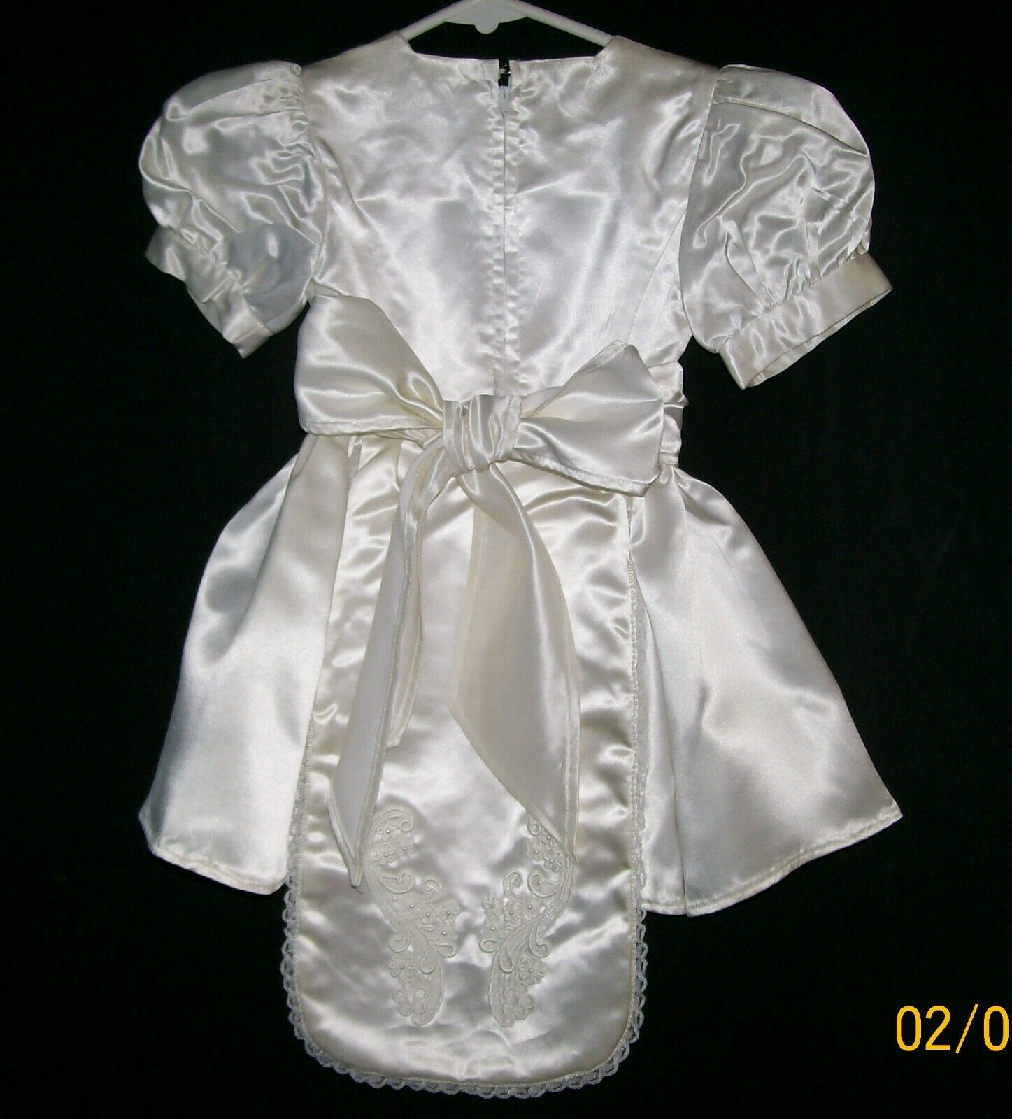 Mini Bride Dress, Child Wedding Dress, Handmade, … - image 4