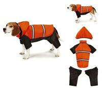 Expedition Snowsuit Rugged Dog Ski Jacket Snow Winter Coat W Removable Legs Hood