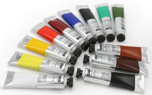12x 200 ml Magi Oil Paint Jumbo Set XXL Tubes Artist Craft, FREE SHIPPING