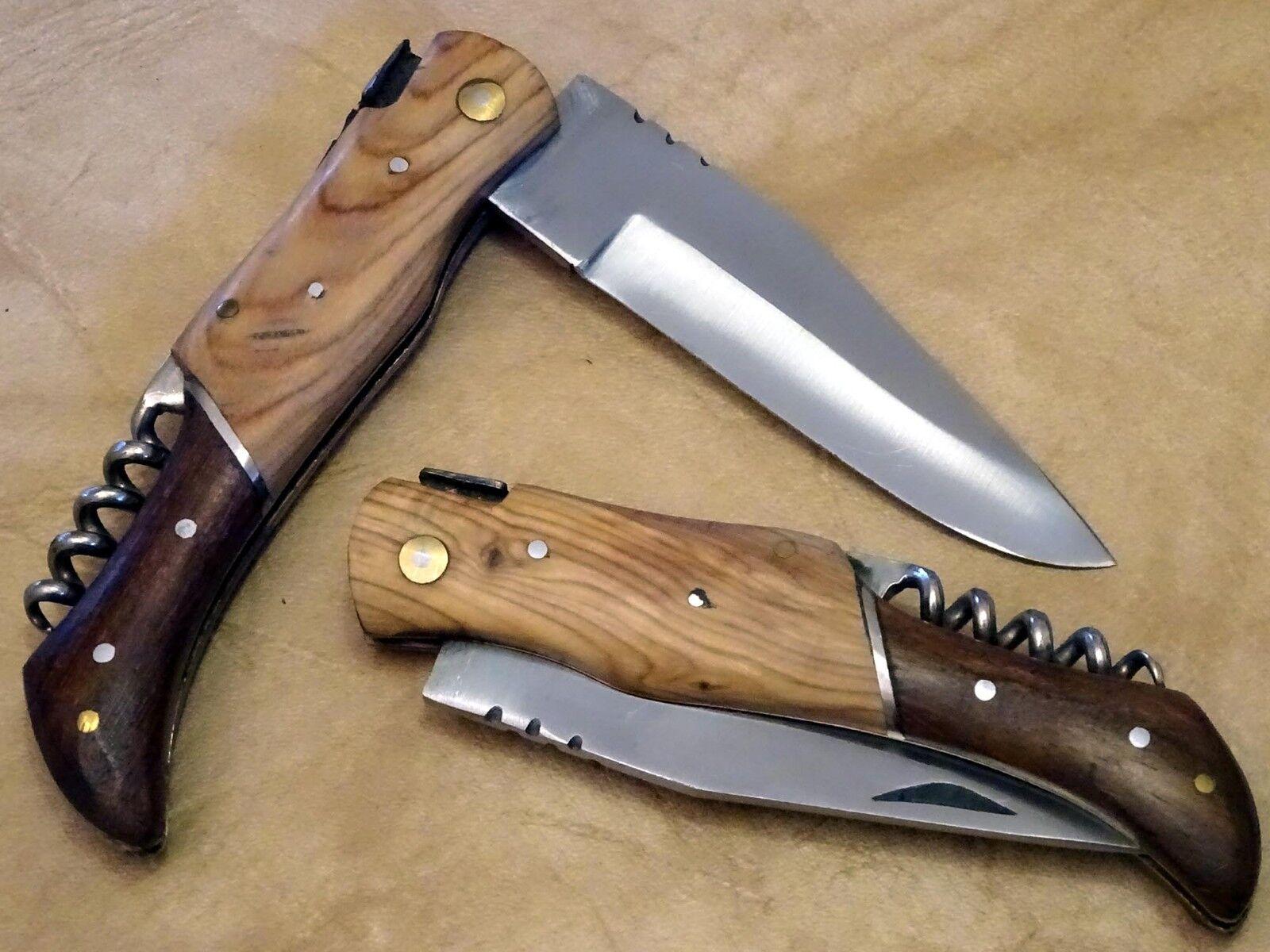 Couteau de poche Laguiole Camping Couteau Couteau Couteau escamotable couteau de chasse (nkm3) 646c41