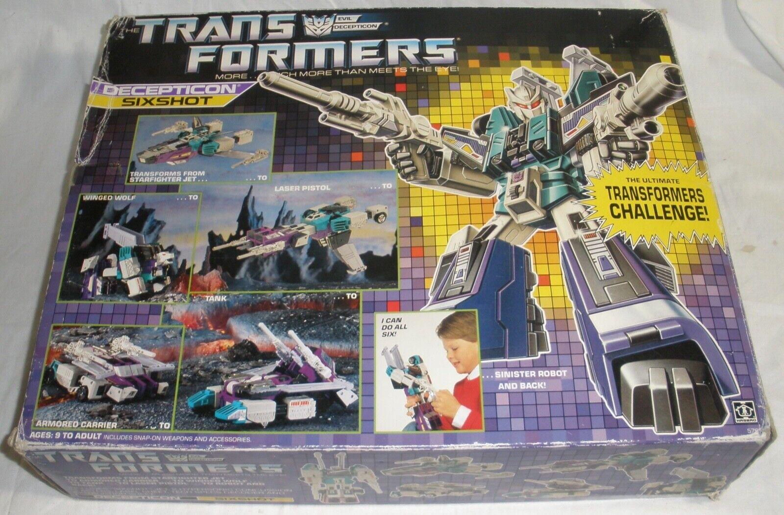 Transformers Decepticon sixscaliente in scatola da collezione giocattolo di qualità