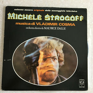 Michel-Strogoff-Jules-Verne-TV-series-Vladimir-Cosma-Spain-LP-Vinyl-Record