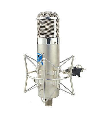 ALCTRON MK47 RECORDING STUDIO TUBE VALVE MICROPHONE KIT U47 style