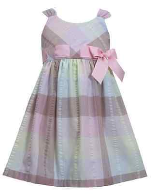 Bonnie Jean Girls Shamrock Green Clover Princess St Patrick/' Pink Dress 2T 3T 4T