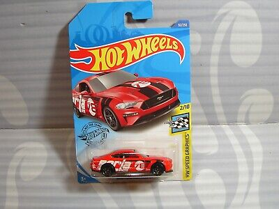 2018 Ford Mustang GT 92//250US Case D Hot Wheels2020 HW Speed Graphics