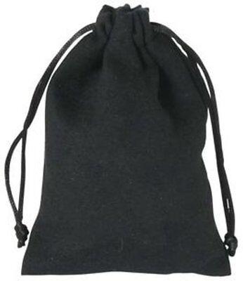 Koffer, Taschen & Accessoires WohltäTig Samtsäckchen Schwarz Mittel 14x9,5cm Samtbeutel Schmuckbeutel Geschenkbeutel