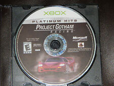 Project Gotham Racing 2001 Microsoft Xbox Game Only Free Shipping Cars