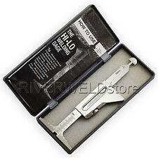 """HI LO Welding Gauge Test Ulnar Welder Inspection Both 32mm Metric & 371/2""""inch"""
