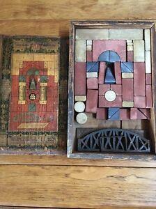 Antique Anchor Richter's Architectural No. 3 Stone Blocks