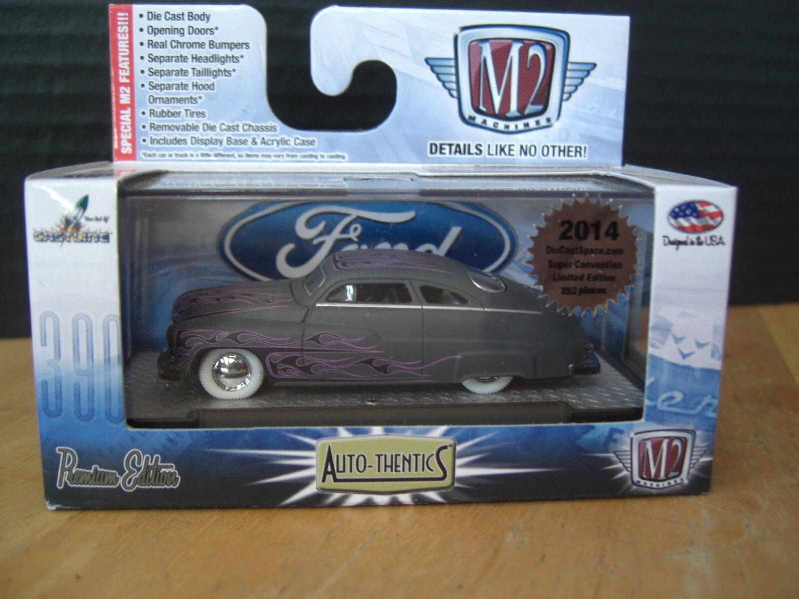M2 Maskiner 1949 Matte grå Mercury 49 Merc super Chase 1  64 tärningskast 1 av 252pc
