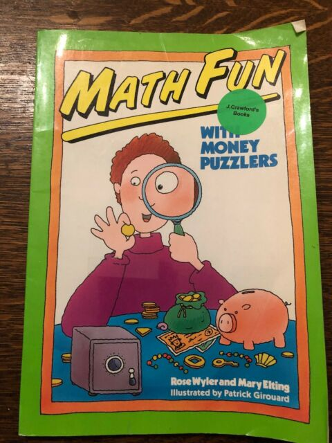 Math Fun with Money Puzzlers by Rose Wyler