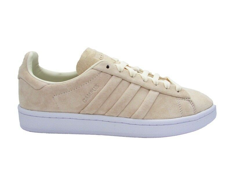 ADIDAS CAMPUS STITCH AND TURN SNEAKERS BEIGE WHITE BB6744