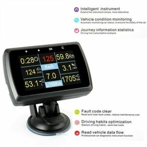 HUD-Display-OBD2-Speedometer-Fuel-Consumption-Water-Temperature-Vehicle-Diagnos