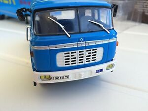 IXO-1-43-BERLIET-TR-12-Camion-Joker-Jus-Orange-1964-Miniature-Voiture-FR