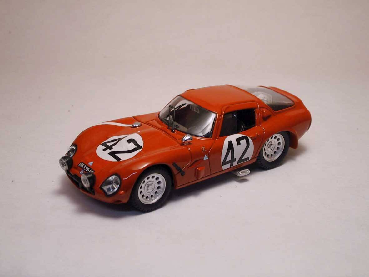 Alfa Romeo Tz 2 th Lm 1965 'Geki' Russo   Zuccoli 1 43 Model BEST MODELS