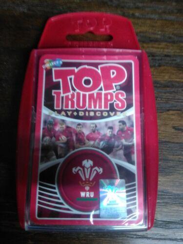 WRU Top Trumps, mai aperto ancora sigillata Nuovo di Zecca x12 Pack/'s