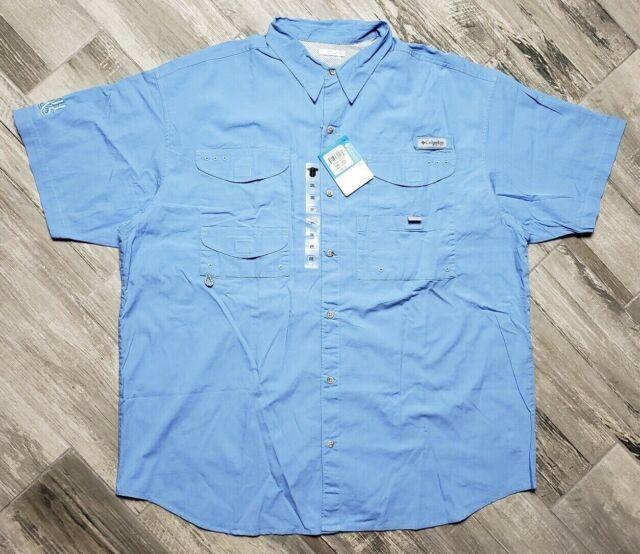 Columbia Men/'s Bonehead Short-Sleeve Shirt PFG Fishing S/_2XL